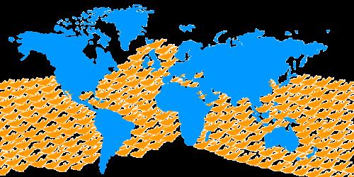 Mapa-Tursiops-truncatus