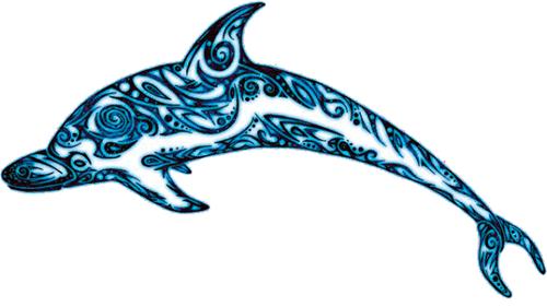 Tierra de delfines Tatuaje 13 500x281