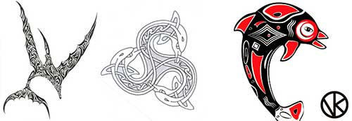 Tierra de delfines Tatuaje 14 500x173