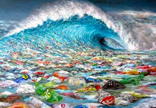 ola de plasticos