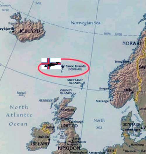 mapa islas faroe 01